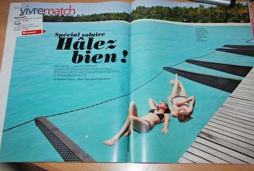La Mariée en Colère dans Paris Match.