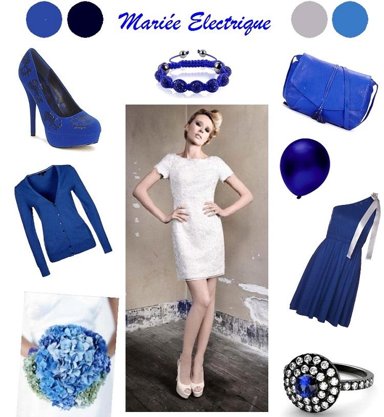 {Décoration Mariage} Inspiration Bleu électrique