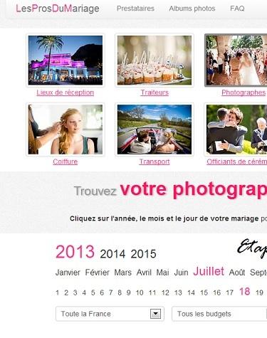 Choisir son photographe Mariage grâce aux Pros du Mariage !