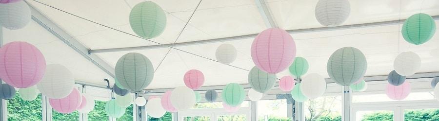 décoration mariage rose, décoration mariage vert, décoration mariage pastel