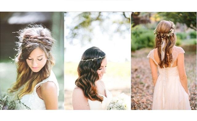 Coiffure de mariée : 10 idées avec les cheveux lâchés