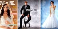 Un mannequin androgyne fait la Une d'un magazine de mariage Américain