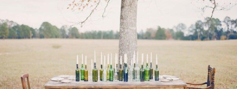 {Inspiration} Déco récup : des bouteilles en verre