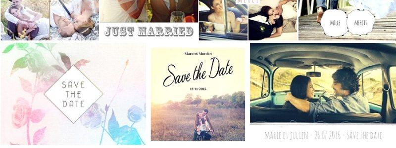 Remerciements de mariage ou Save the date : c'est maintenant ou jamais !