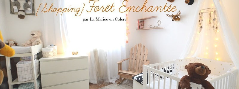 {Shopping} La chambre «dans la forêt enchantée» de Louise