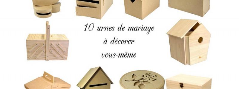 urne de mariage à décorer