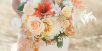 5 formes différentes de bouquet de mariée