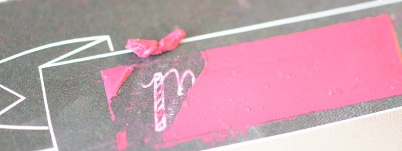 DIy faire part gratter