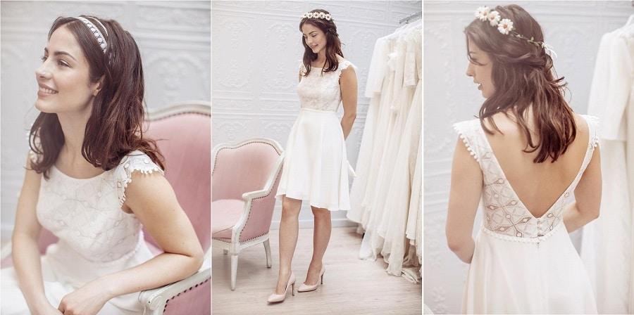 robe mariage civile