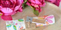 DIY mariage petit budget : des porte-serviettes en corde…