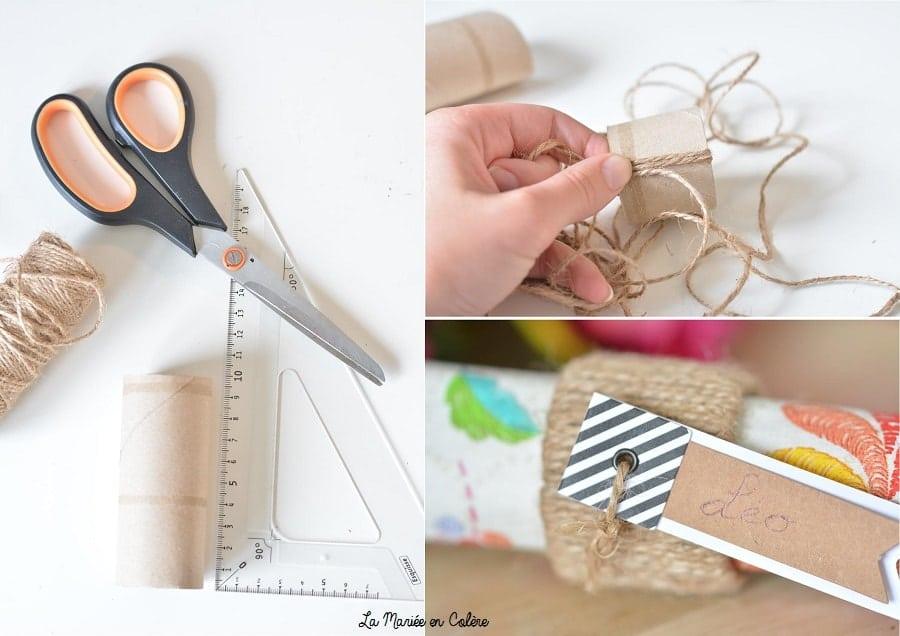 DIY ronds serviette PQ