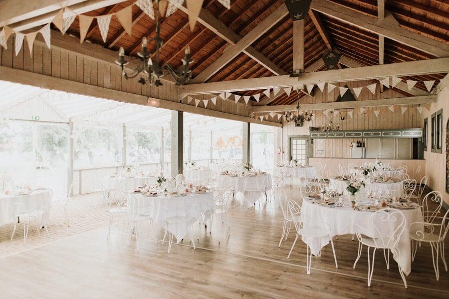 décoration mariage champêtre élégant