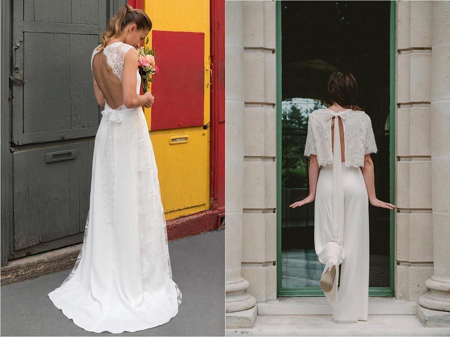 tenue mariée 2018
