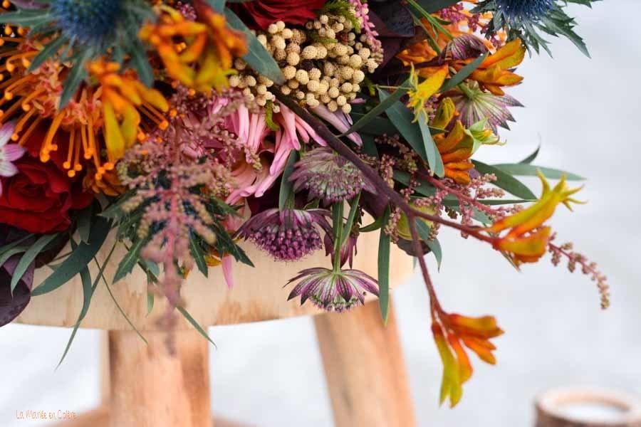 bouquet mariée octobre