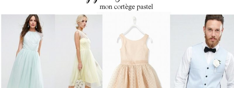 Shopping : Mon cortège en total look pastel