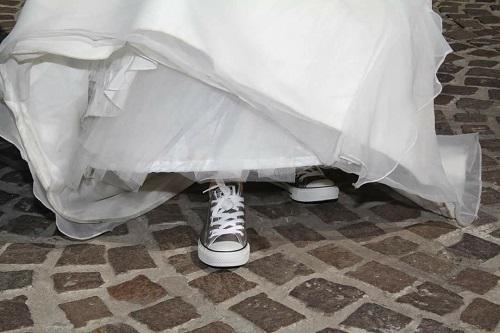 999e8c28a86 Témoignages  Mes chaussures originales de mariée