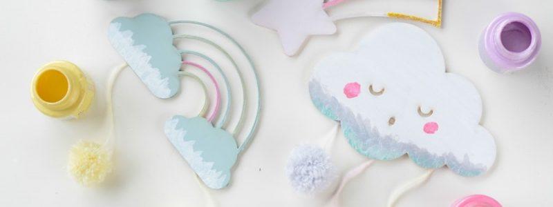 DIY : des déco douces pour la chambre de bébé