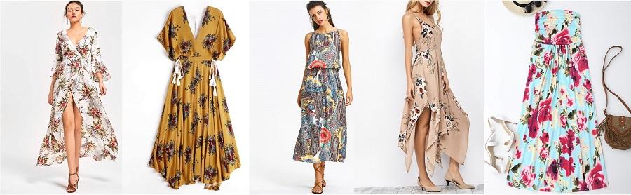 robe longue zaful