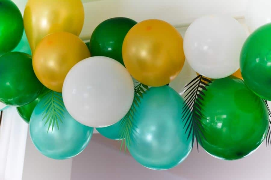 comment faire arche ballons