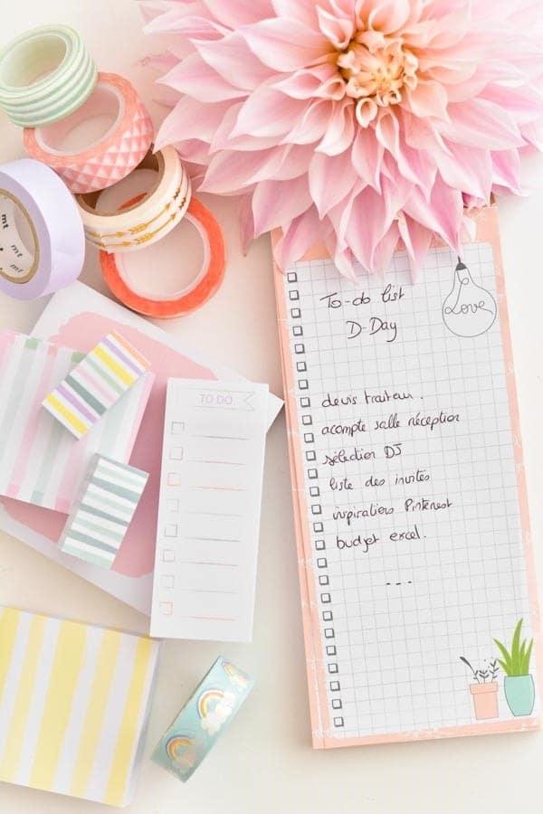 blog organisation mariage