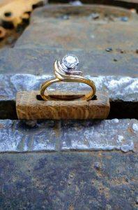 anneau engagement elise