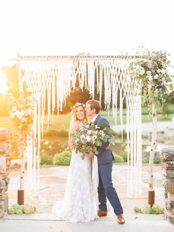 cérémonie mariage arche