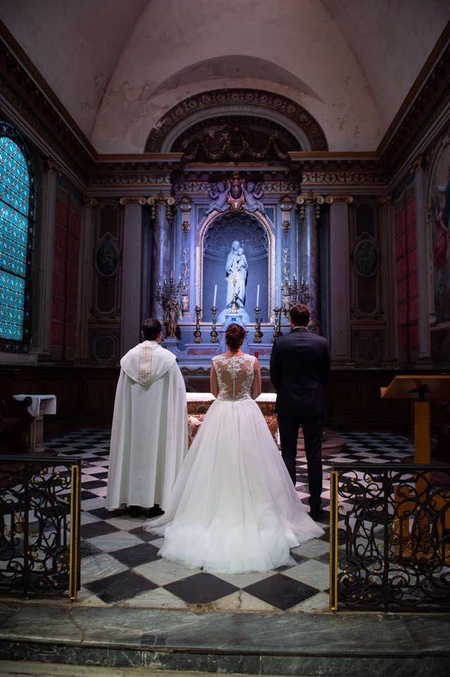 robe de mariée dentelle dos