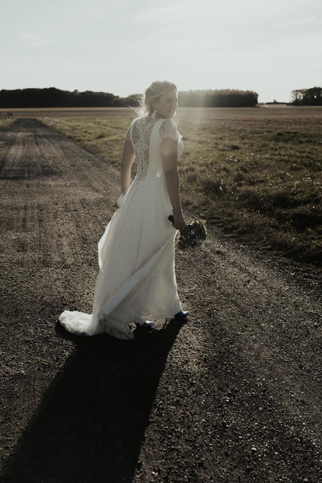 robe de mariée dos dentelle