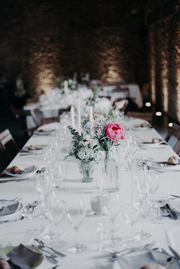 décoration table mariage éco responsable