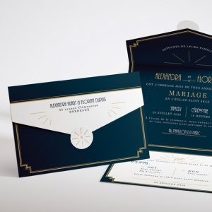 invitation mariage tendance