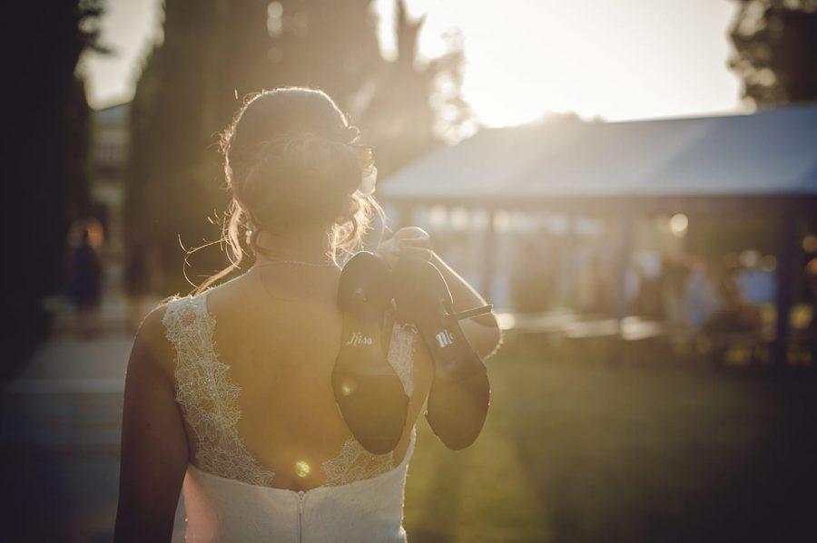 robe de mariée bochet création