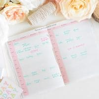 BLOG Planning jour du mariage