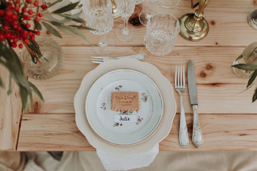 elopement arts de la table