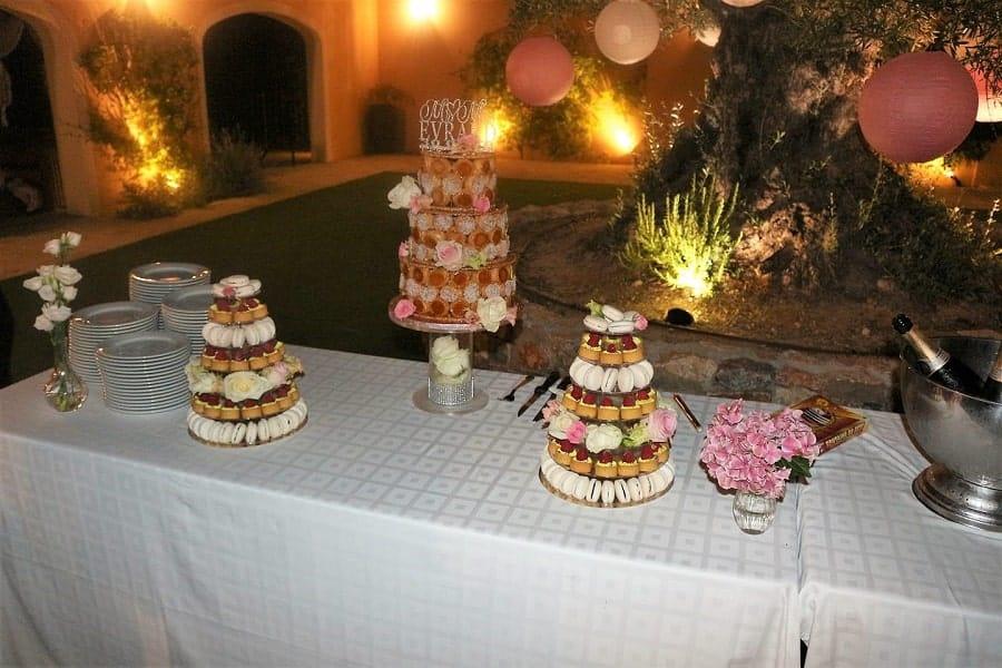 pièce montée dessert mariage