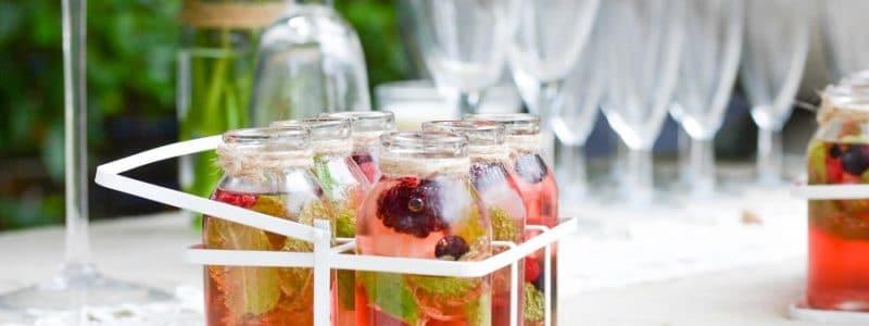 10 idées de cocktails pour le vin d'honneur